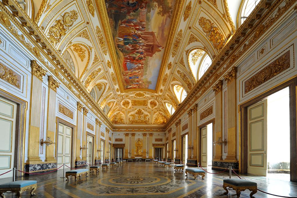 La reggia di caserta la tua italia for Progress caserta catalogo