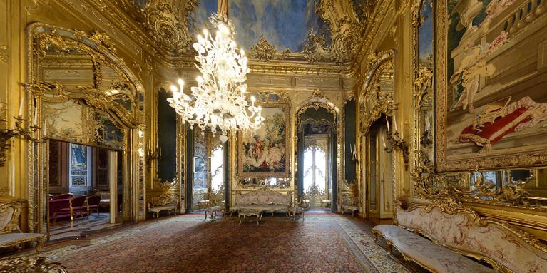Il complesso del quirinale la tua italia for Planimetrie del palazzo con sala da ballo