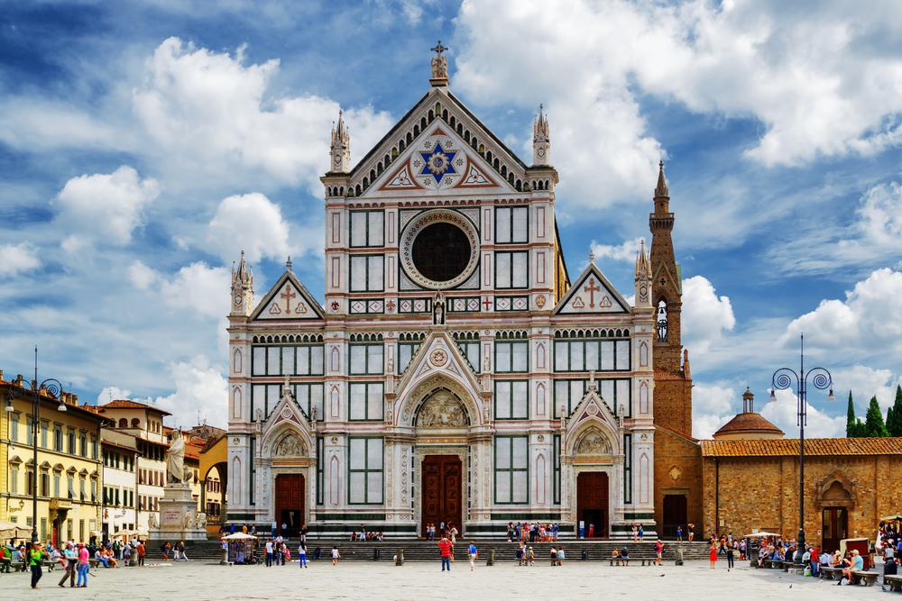 Флоренция. Церковь Санта-Кроче. Фото/ Shutterstock.com
