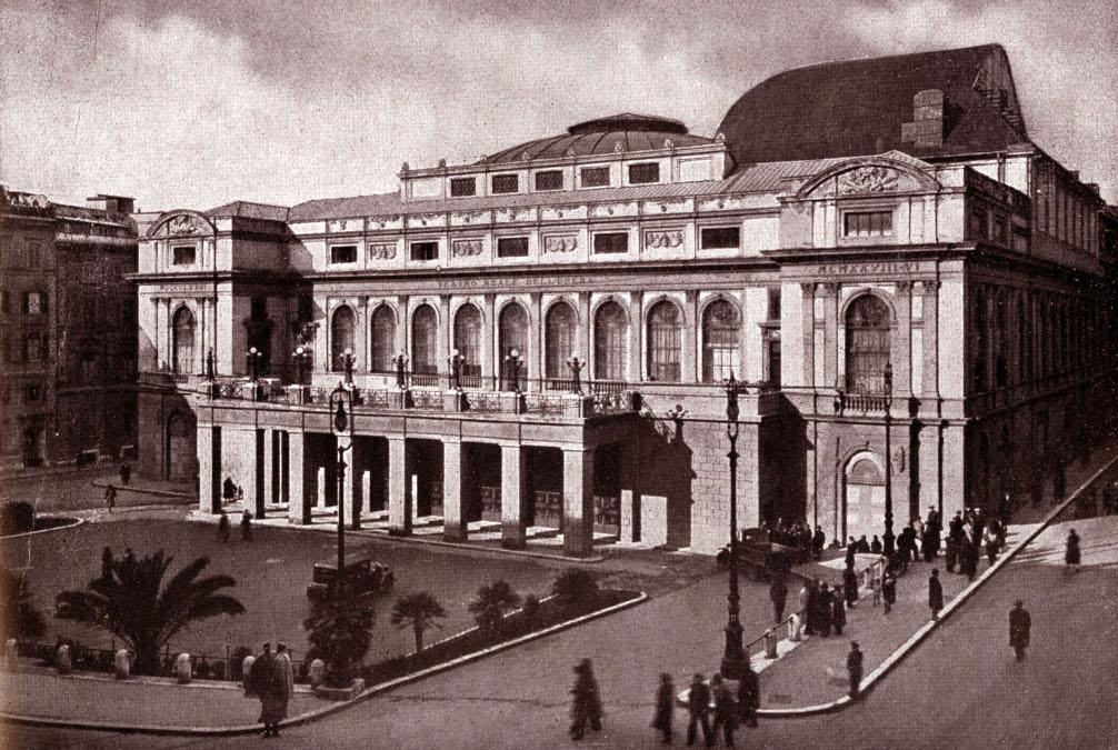 Здание театра в 1940 году / Wikimedia Commons