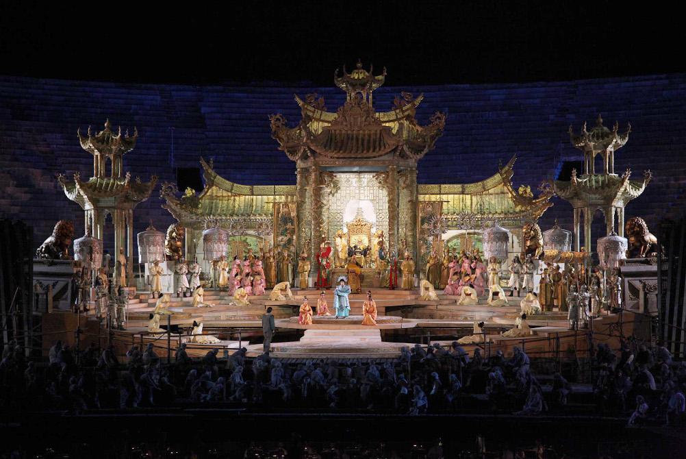 Turandot, atto II / foto Ennevi