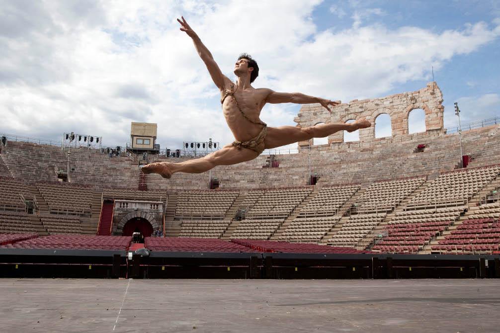 Arena di Verona, Roberto Bolle / foto Luciano Romano