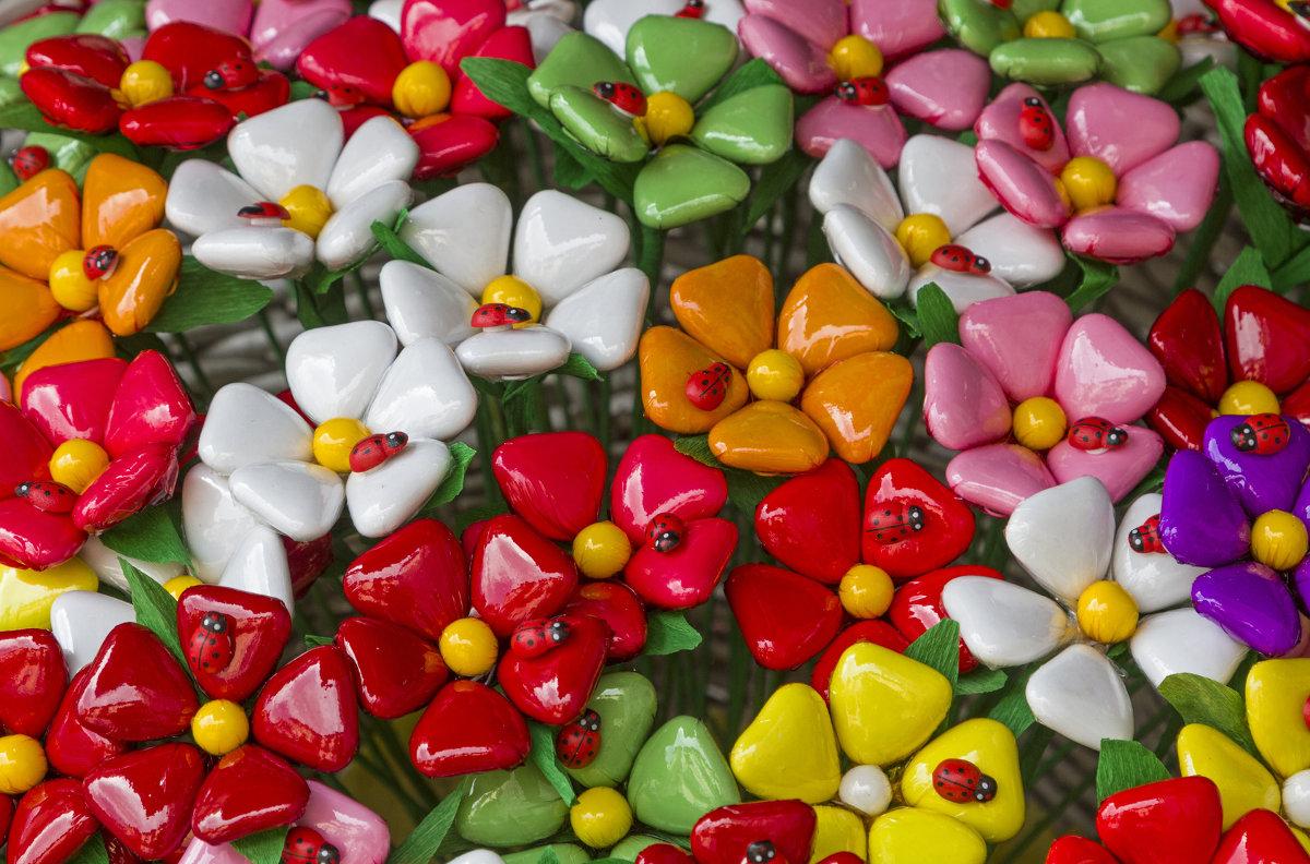 Confetti aus Sulmona - Blumensträusse zum Vernaschen