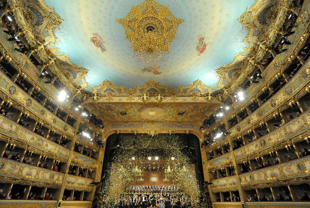 Новогодний концерт 2012, фото ©Michele Crosera / teatrolafenice.it