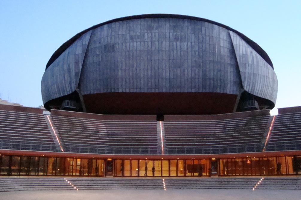 Auditorium Parco della Musica / Wikimedia Commons