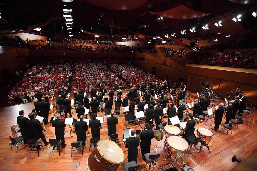 Auditorium Parco della Musica © Musacchio & Ianniello