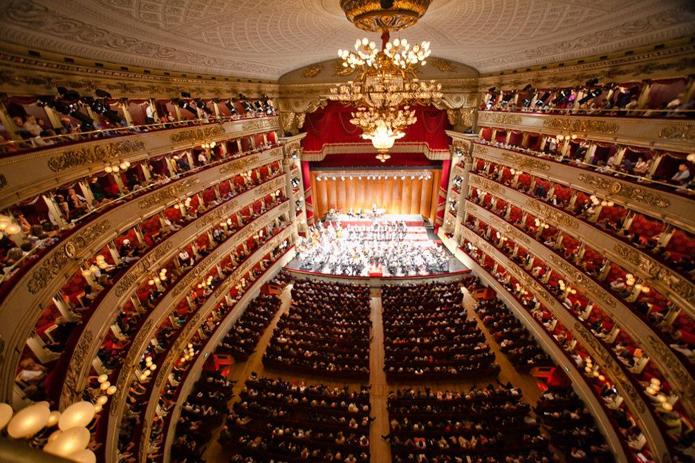 Teatro alla Scala. Direttore e pianoforte, Daniel Baremboim. Ph Andrea Mariniello