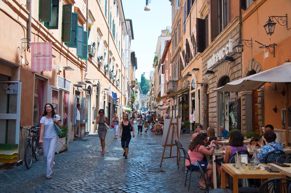 Via della Vite, foto ©  lornet / Shutterstock.com
