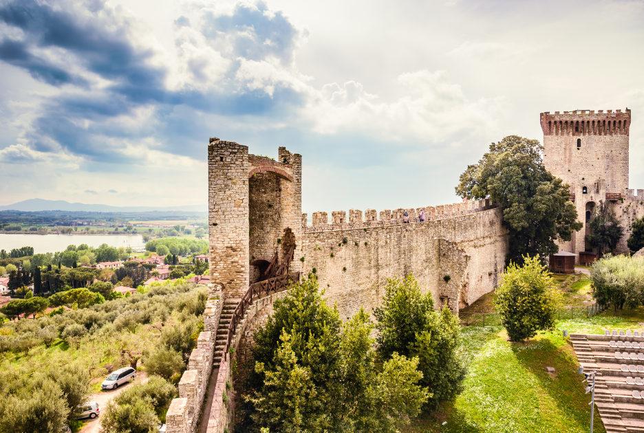 Castiglione del Lago. La Rocca. Foto / Shutterstock.com