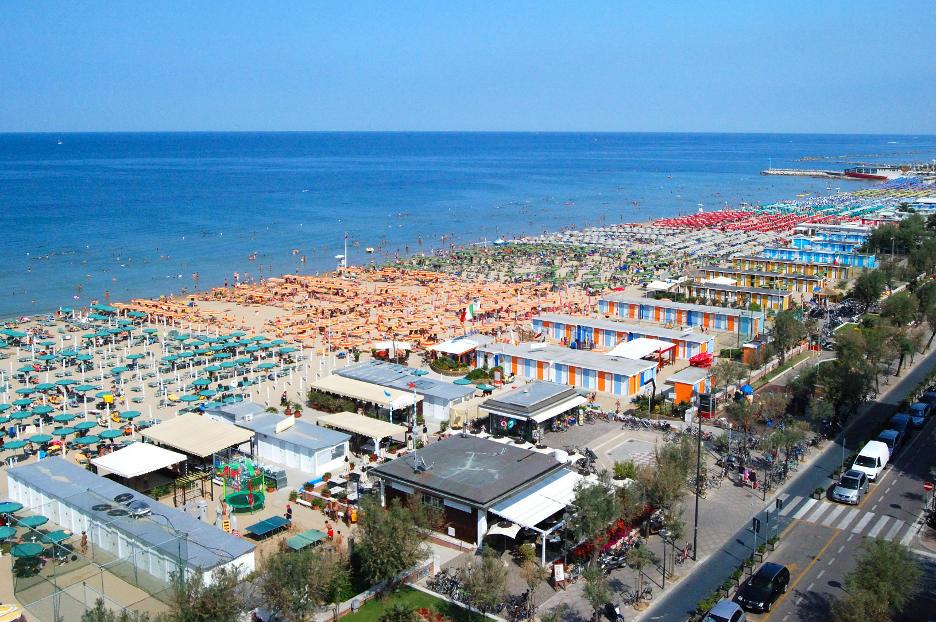 La spiaggia di Pesaro. Foto © Bart Hanlon / Flickr.com