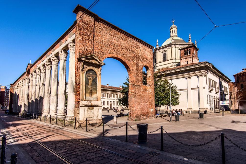 Милан. Колонны Сан-Лоренцо. Фото / Shutterstock.com