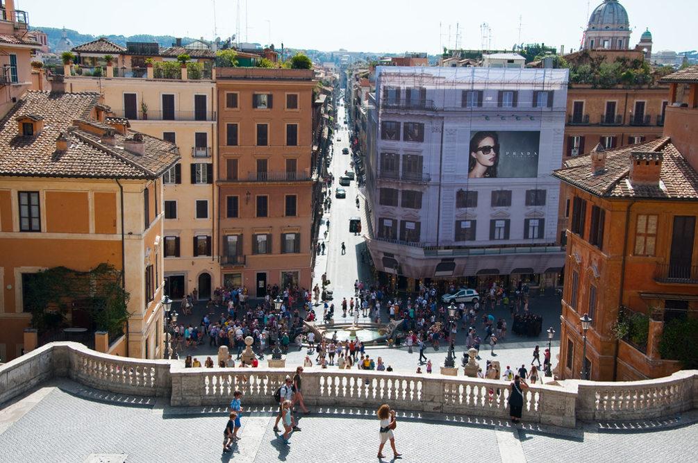 Piazza di Spagna e via Condotti, foto ©  lornet / Shutterstock.com