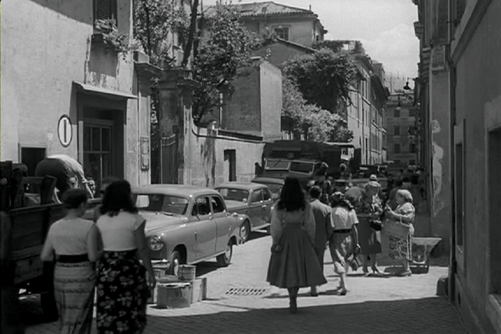 Виа Маргута, кадр из фильма «Римские каникулы», 1953 год