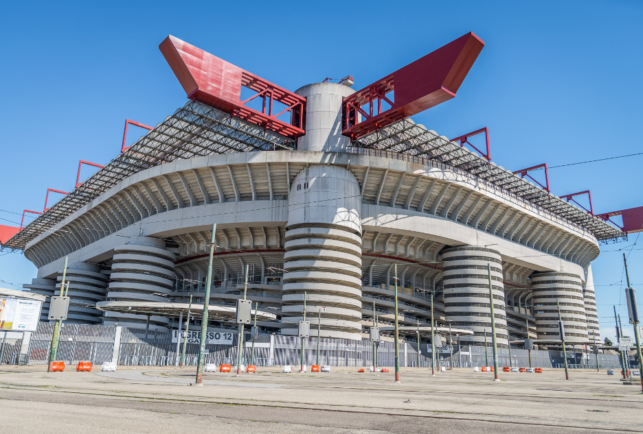 Вид на стадион снаружи. Фото © oneinchpunch / Shutterstock.com