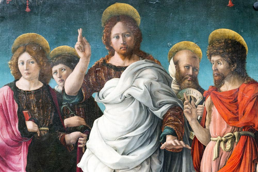 Спаситель и Святые, Джероламо да Кремона © Claudio Giovanni Colombo / Shutterstock.com