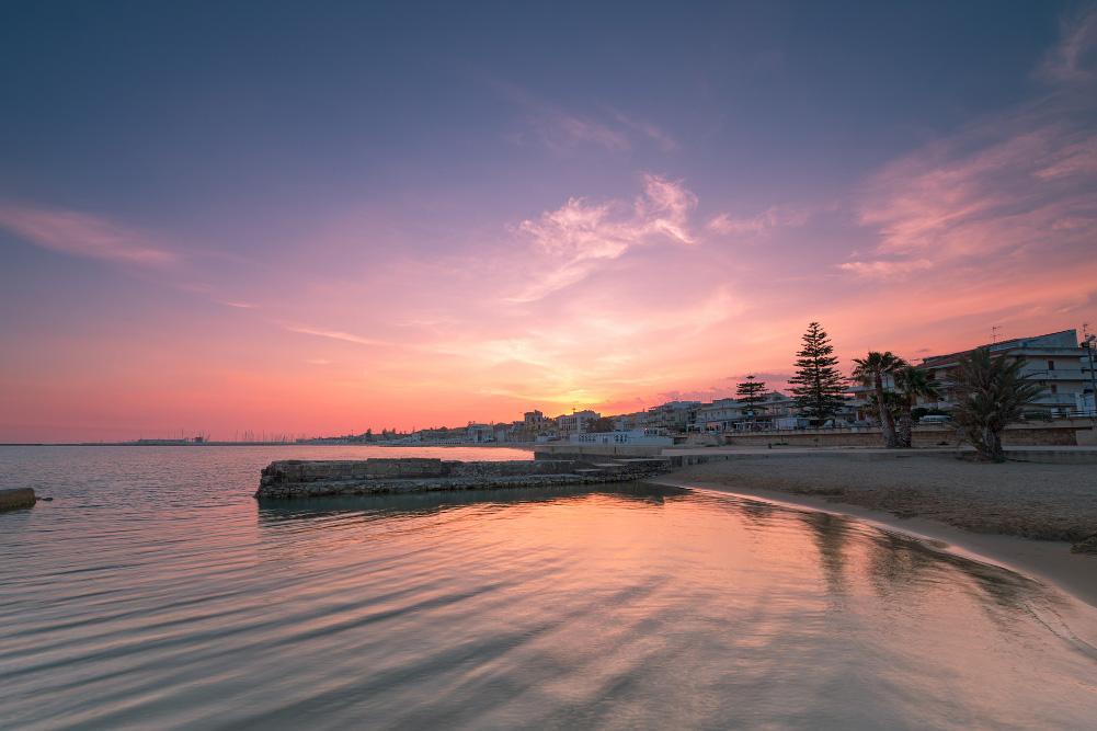 Tramonto su Marina di Ragusa / Foto © Mirko Chessari