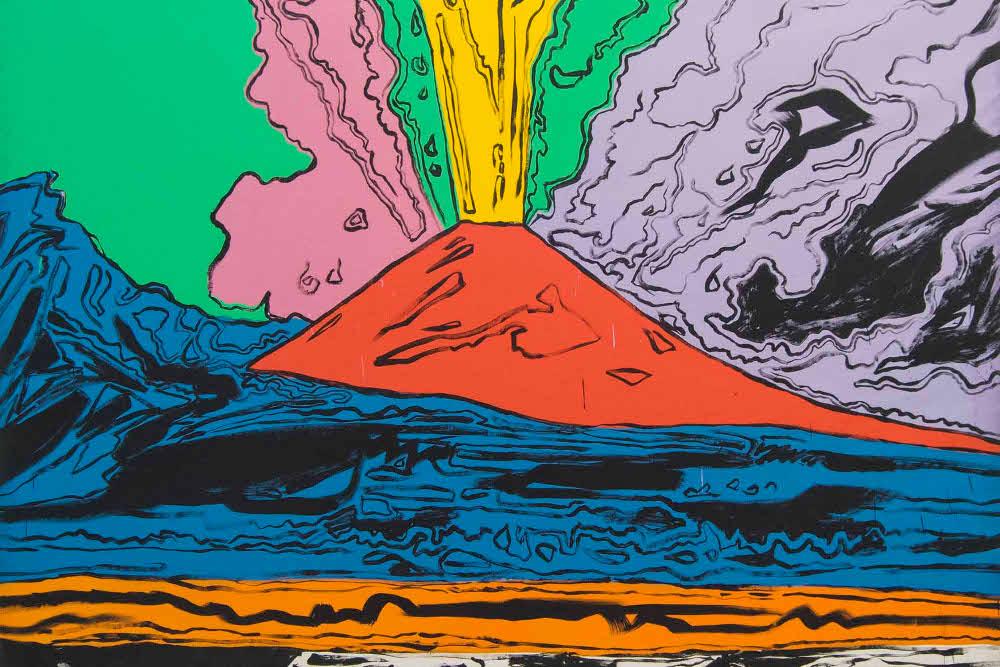 Andy Warhol, Vesuvius © museocapodimonte.beniculturali.it