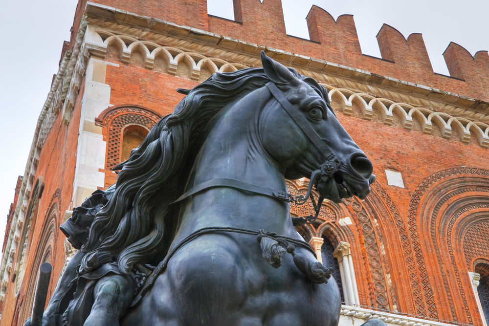 Памятник Рануччо I Фарнезе работы Франческо Моки да Монтеварки / Фото: Shutterstock.com