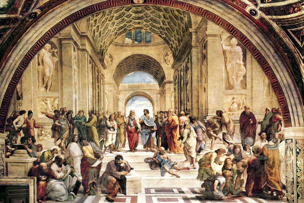 «Афинская школа», Рафаэль, около 1509-1511