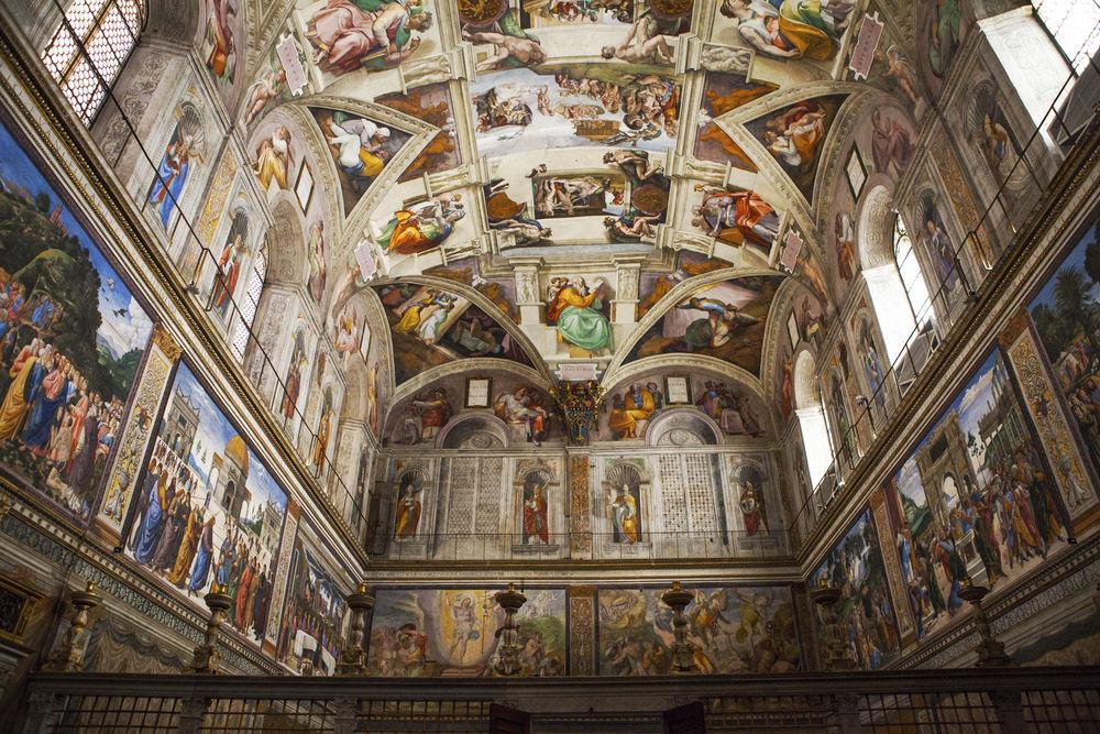 pavel Ka Cappella Sistina © dudek / Shutterstock.com