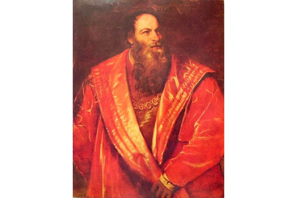 Pietro Aretino, Tiziano