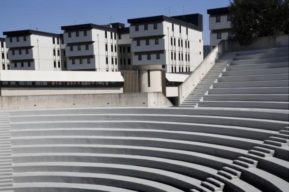 Particolare della gradinata dell'anfiteatro del centro arte Pecci / Foto: www.comune.prato.it