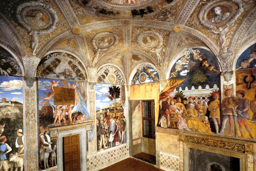 Andrea Mantegna, affresco della Camera degli Sposi / Foto: pinterest.com