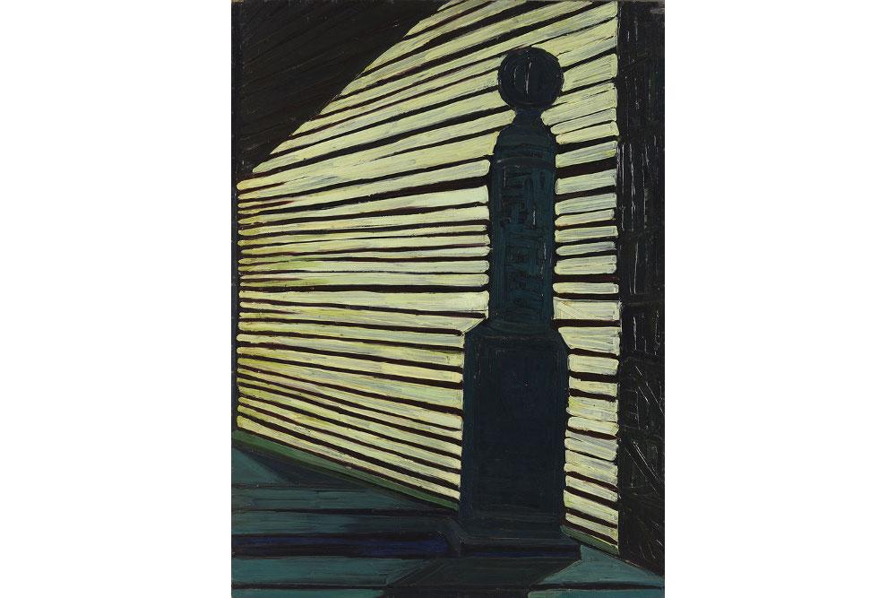 Титина Мазеллиi, «Распределитель», 1953, доска, масло, см 100 x 71, частная коллекция