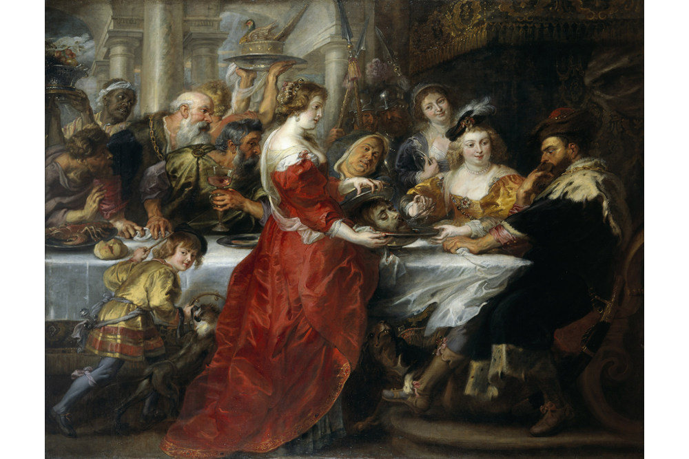 Рубенс, «Пир Ирода», около 1635 - 1638, Национальная галерея Шотландии, Эдинбург