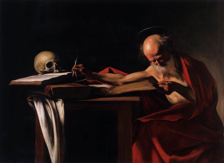 Caravaggio, San Gerolamo, 1605-1606, Galleria Borghese