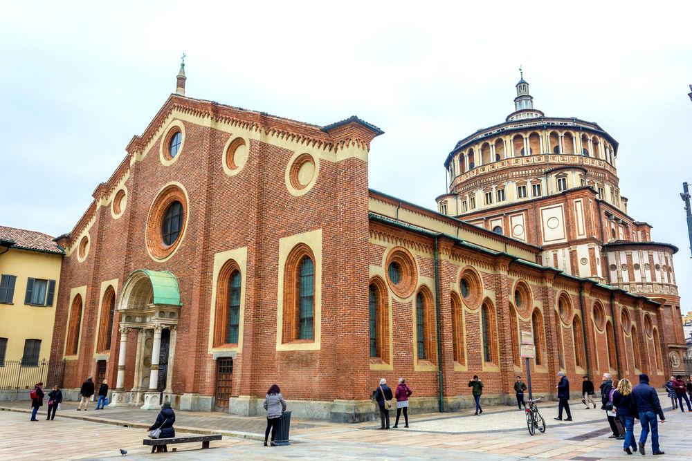 Церковь Санта-Мария-делле-Грацие © benny marty / Shutterstock.com