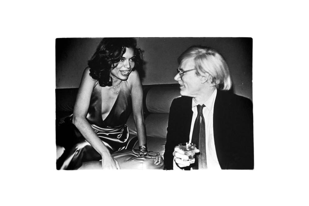 ©Anton Perich, Warhol e Bianca Jagger