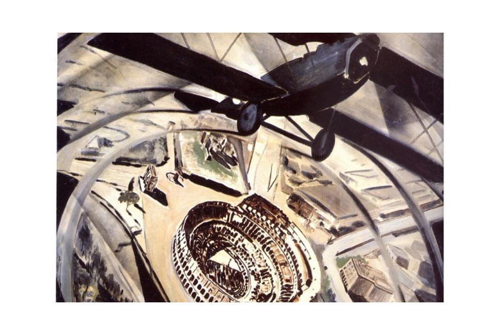 tato-guglielmo-sansoni1896-1974-sorvolando-in-spirale-il-colosseo-1931c-bassa-730x490