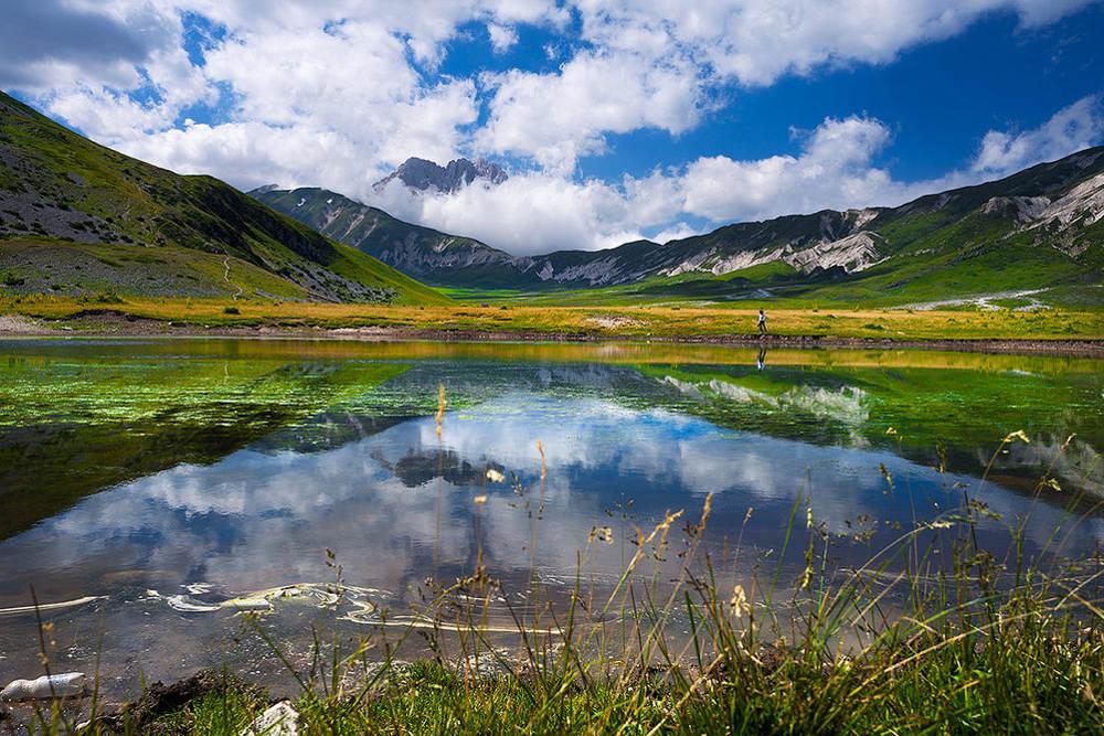 Национальный парк Гран Сассо и Монт-делла-Лага/ Фото: Shutterstock.com