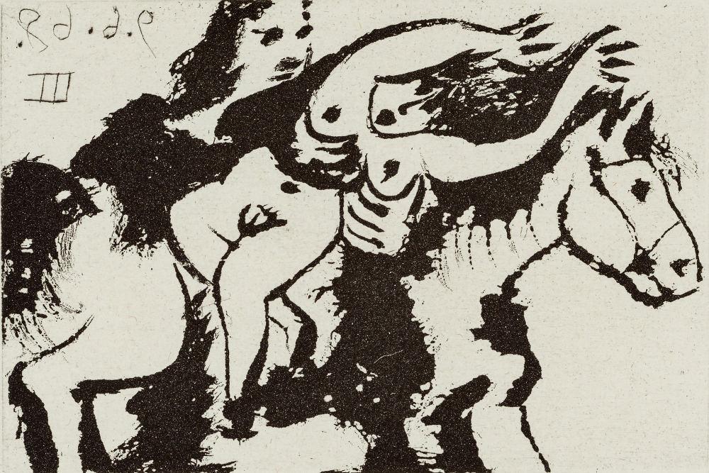 "Пабло Пикассо, ""Селестина"", 1971"