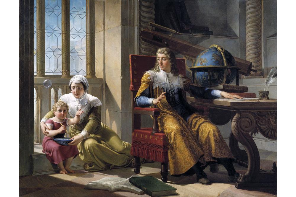 """Пеладжо Палаги, """"Ньютон открывает рефракцию света"""", масло, холст, 170x220 см"""