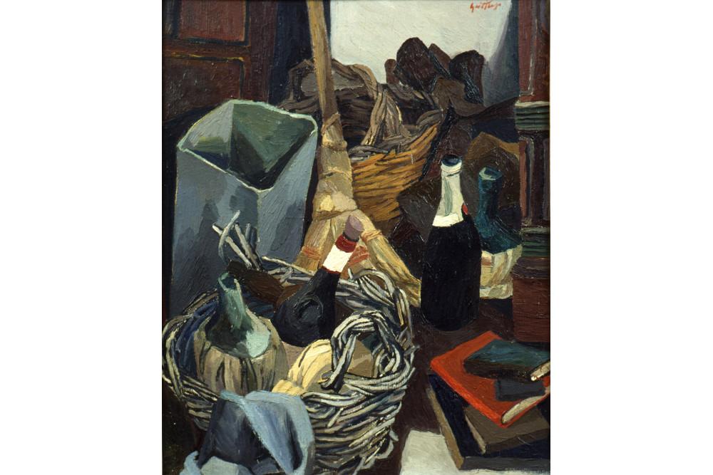 Renato Guttuso, Un angolo dello studio di via Pompeo Magno, 1941-42 Olio su tela, cm 79x64,5 Udine, Civici Musei di Storia e Arte © Renato Guttuso by SIAE 2016