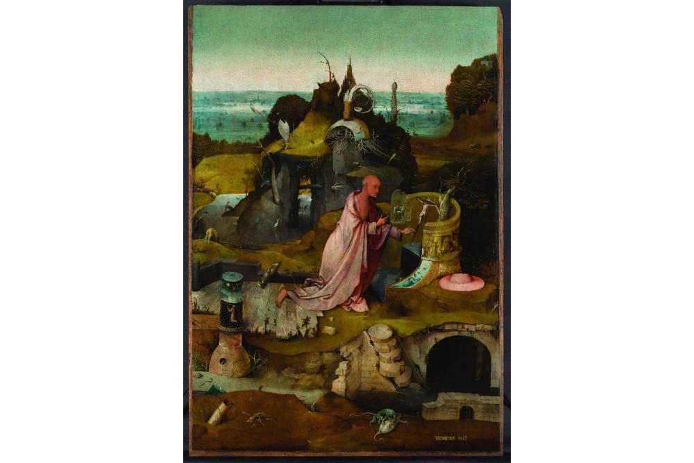 Иероним Босх, триптих «Святые отшельники»