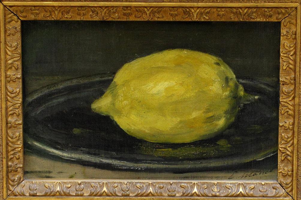 Эдуард Моне, «Лимон» (1880)