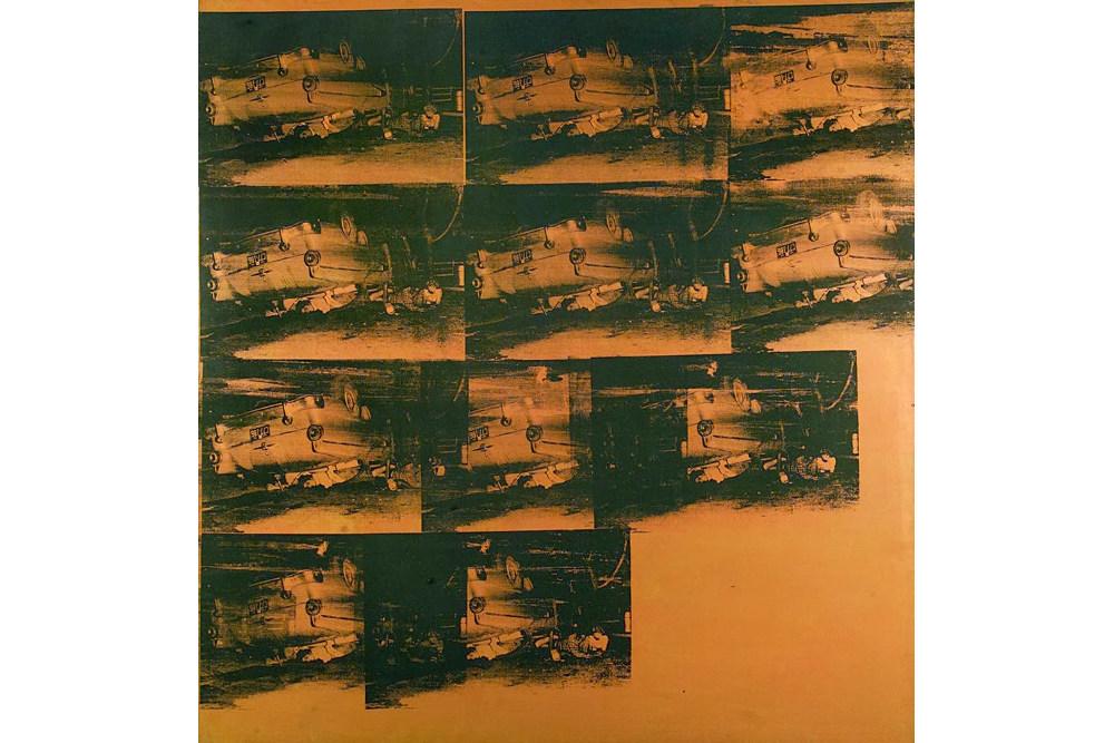 Энди Уорхол, «Авария оранжевой машины» (1963)