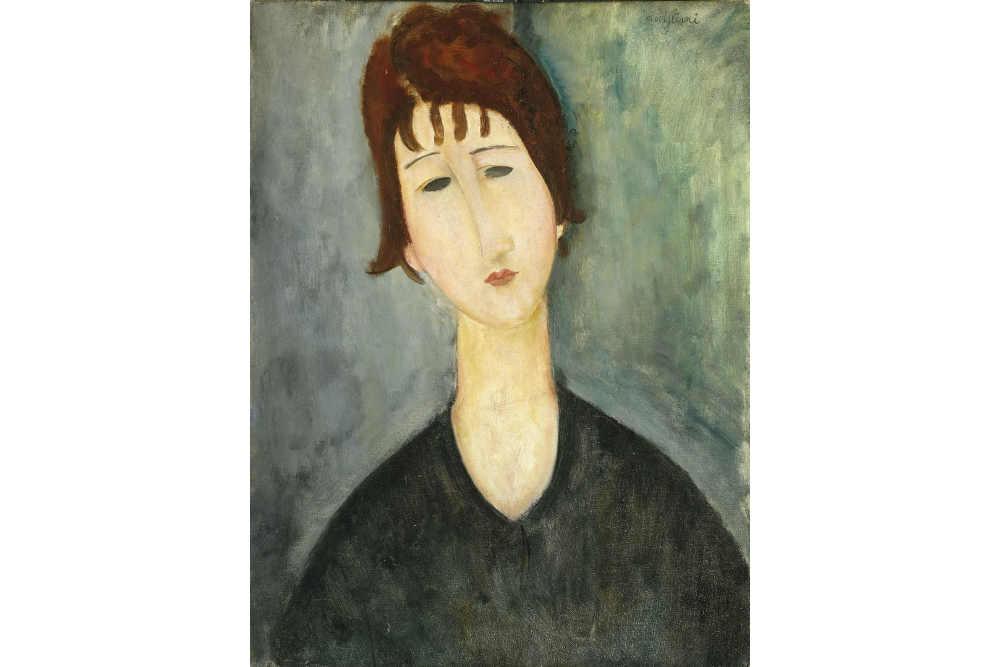 Аmedeo Modigliani, Ritratto di una donna