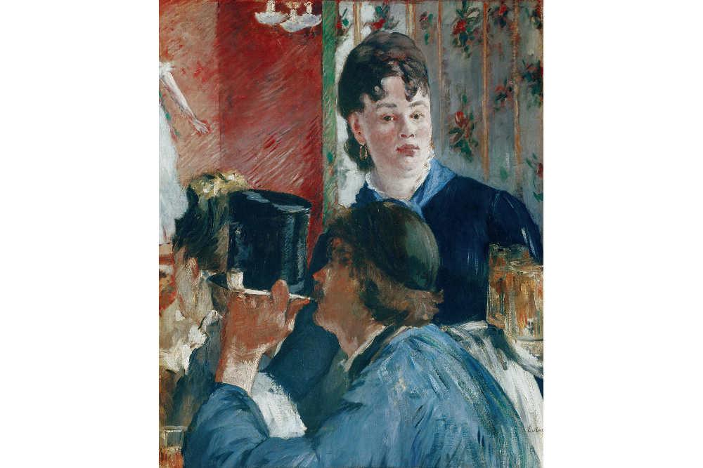Эдуар Мане, «Подавальщица пива», 1878-1879