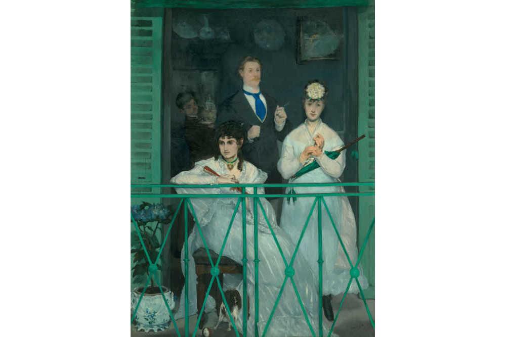 Эдуар Мане, «Балкон», 1868—1869