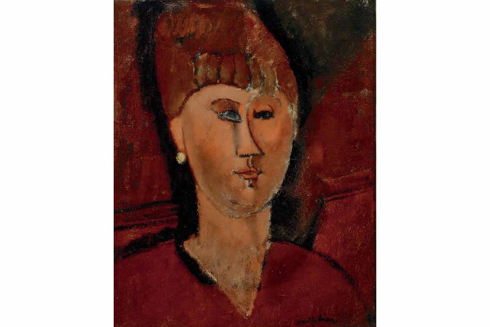 Amedeo Modigliani, La ragazza rossa