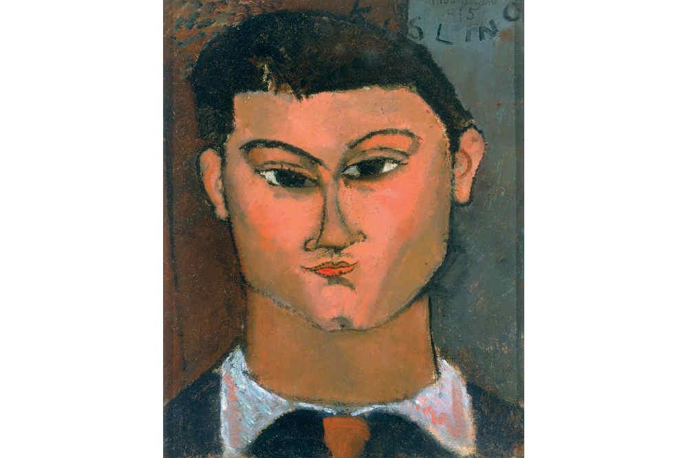 Amedeo Modigliani, Ritratto di Moisé Kisling
