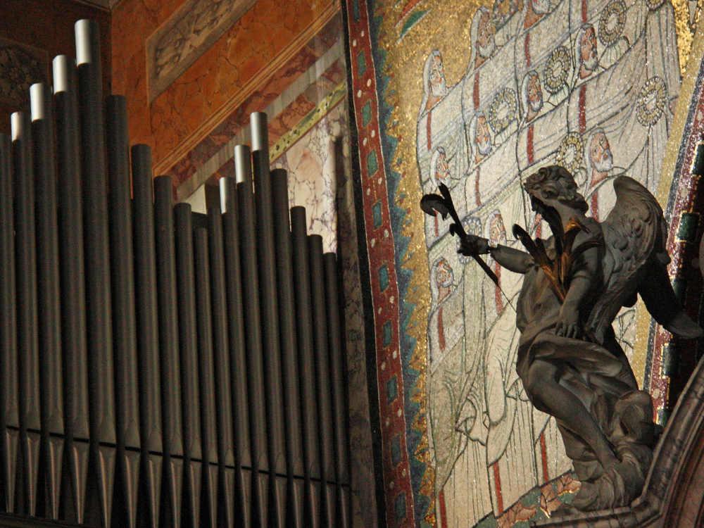 La basilica di Santa Prassede, Roma © Vladislav Fliarkovsky