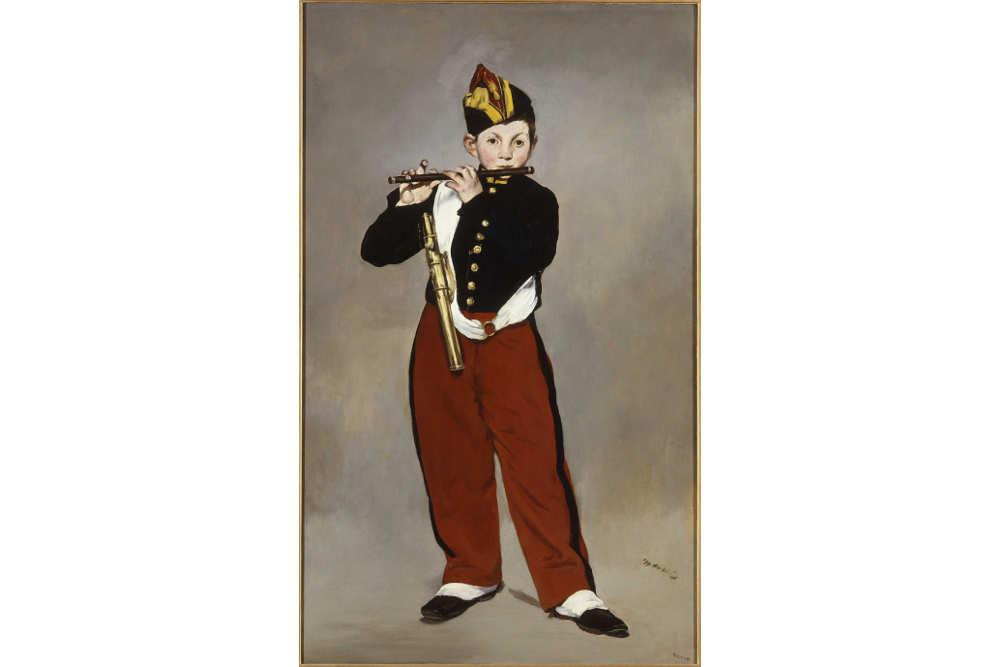 Эдуар Мане, «Флейтист», 1832-1883