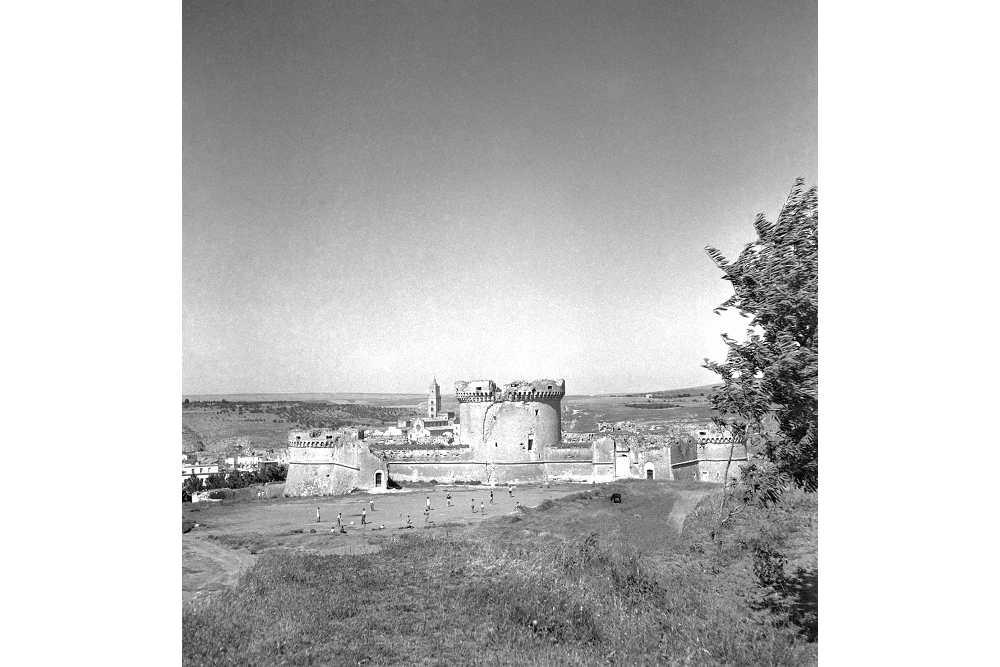 Archivio-Luce-il-castello-Tramontano-a-Matera