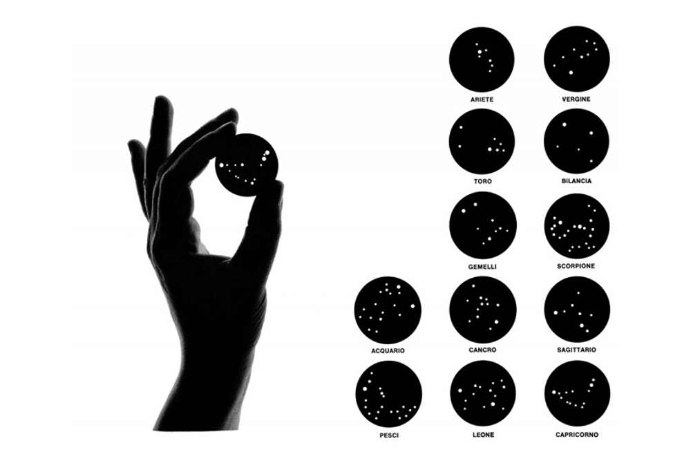 Bruno Munari, Constellations of The Zodiac, 1975