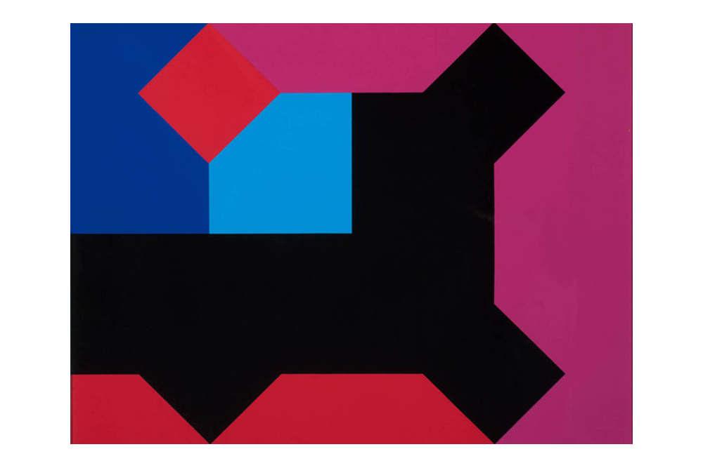 Bruno Munari, Curva di Peano, 1975 © Fondazione Cassa di Risparmio di Padova e Rovigo